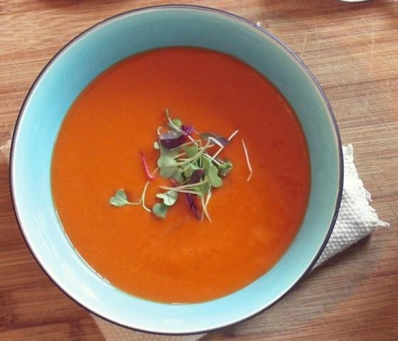 Hladna presna juha – Gazpacho